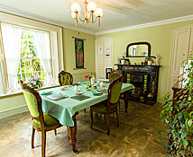 Newhouse Farm Bed & Breakfast: Dining room