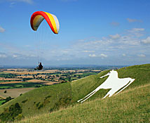 Westbury White Horse. Image © Visit Wiltshire, by kind permission.